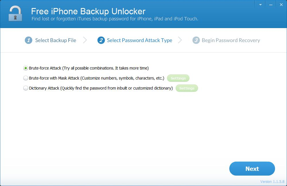iLike Free iphoness Backup Unlocker